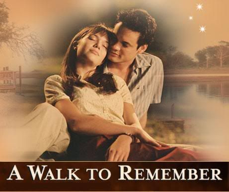 walk to remember characters