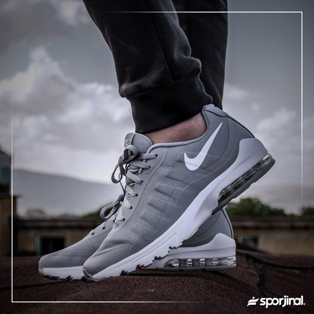 b8353aebf6d6d Nike Air Max Invigor Erkek Gri Spor Ayakkabı (749680-011) - Günlük -  Ayakkabı - ERKEK