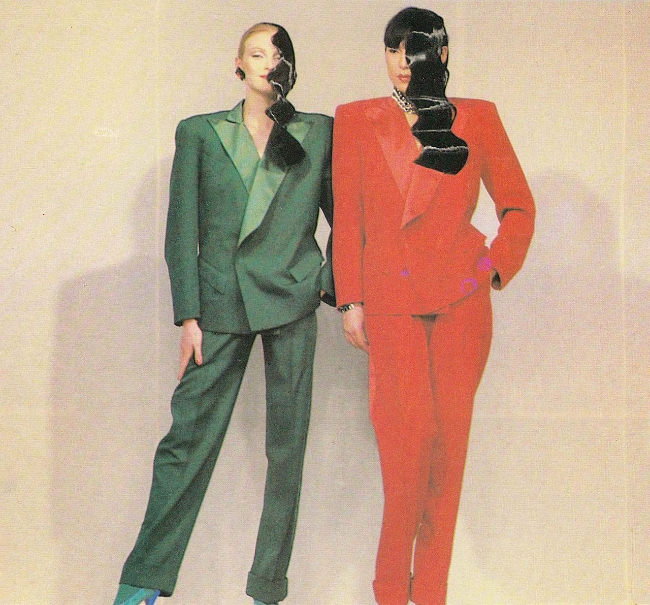 Thierry Mugler, L'Officiel - August 1981