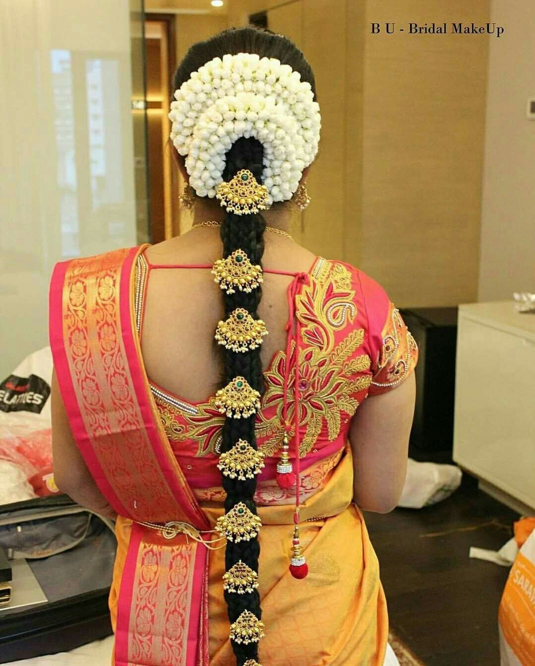 Pin On South Indian Wedding Bridal Hairstyles
