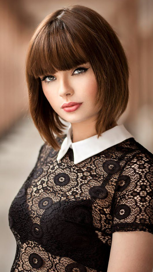 Corte de pelo estilo frances mujer