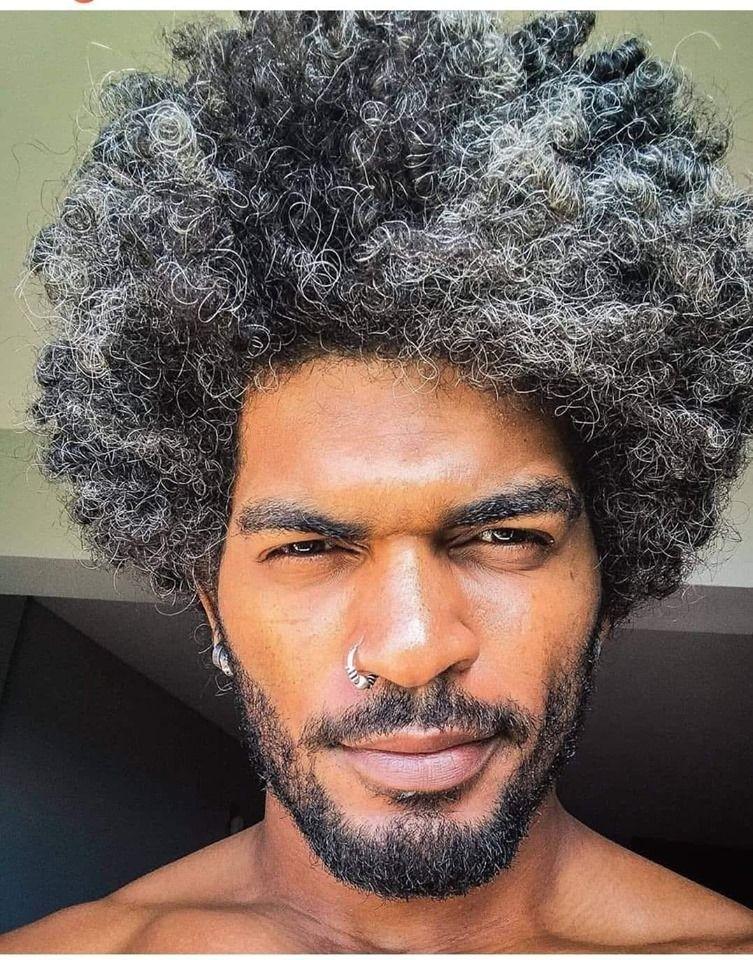 Pin By Salima Guijar On Curly Hair Men In 2020 Long Hair Styles Men Natural Hair Men Curly Hair Men