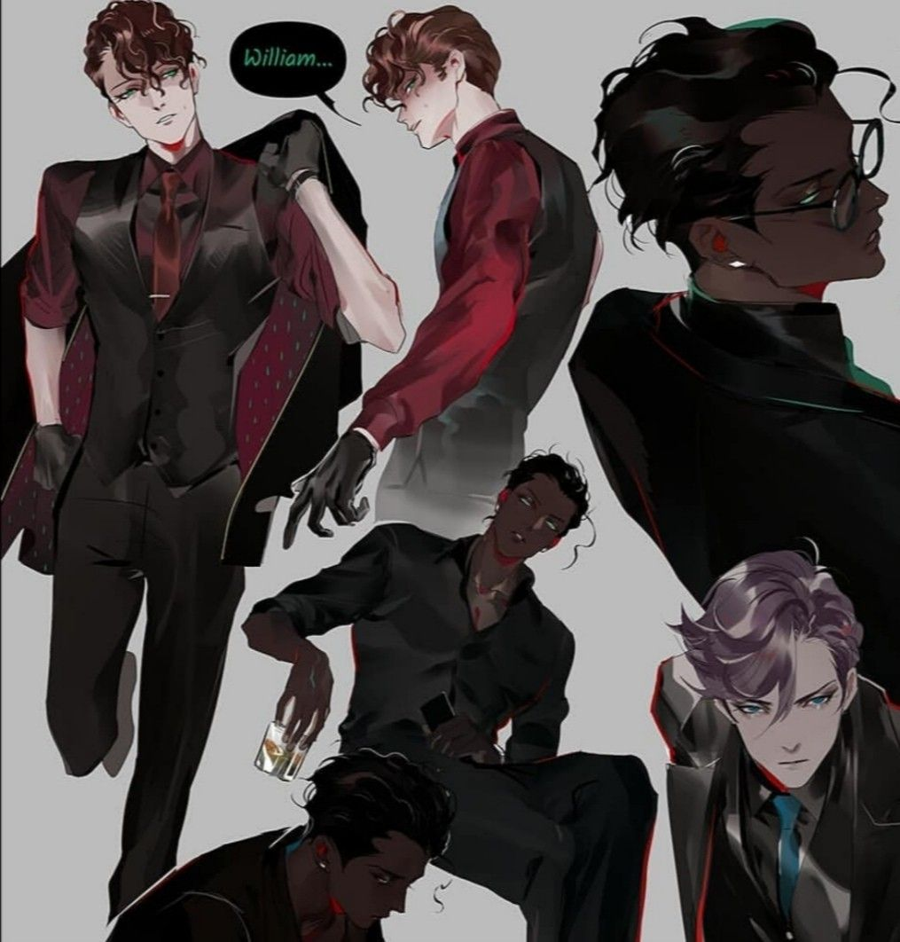 Pin by margaretta 123402 on Anthony in 2020 Black anime