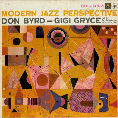 Don Byrd Gigi Gryce Modern Jazz Perspective At Discogs Album Artistique Danse Moderne Jazz Pochette Album