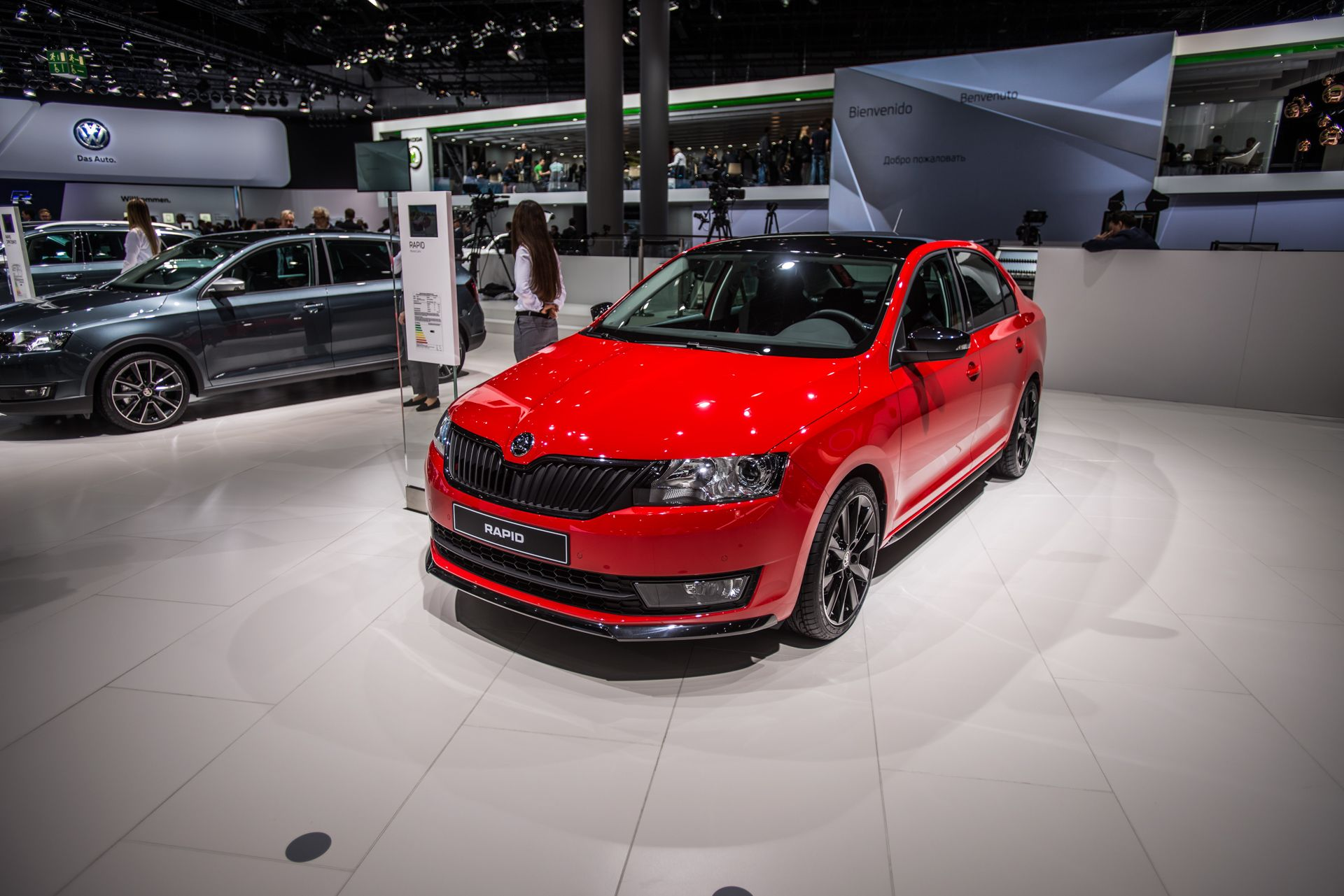 The Sporty Look Of The New Skoda Rapid Monte Carlo Skodaiaa Rapidmontecarlo Skoda Iaa2015 Skoda Future Car Monte Carlo