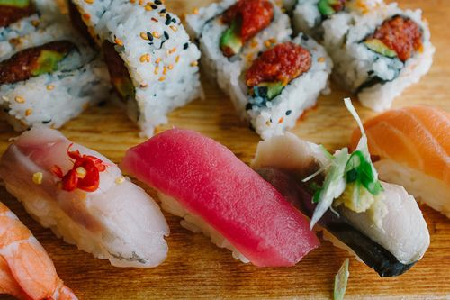 Sushi Lunch | Flickr - Photo Sharing! unter We Heart It.