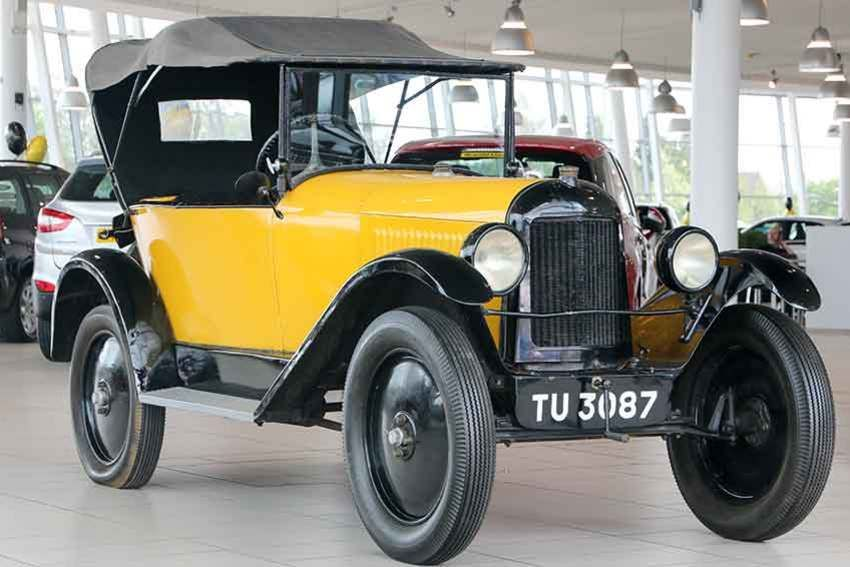 Classic Cars From The Great Gatsby Chrysler Model B