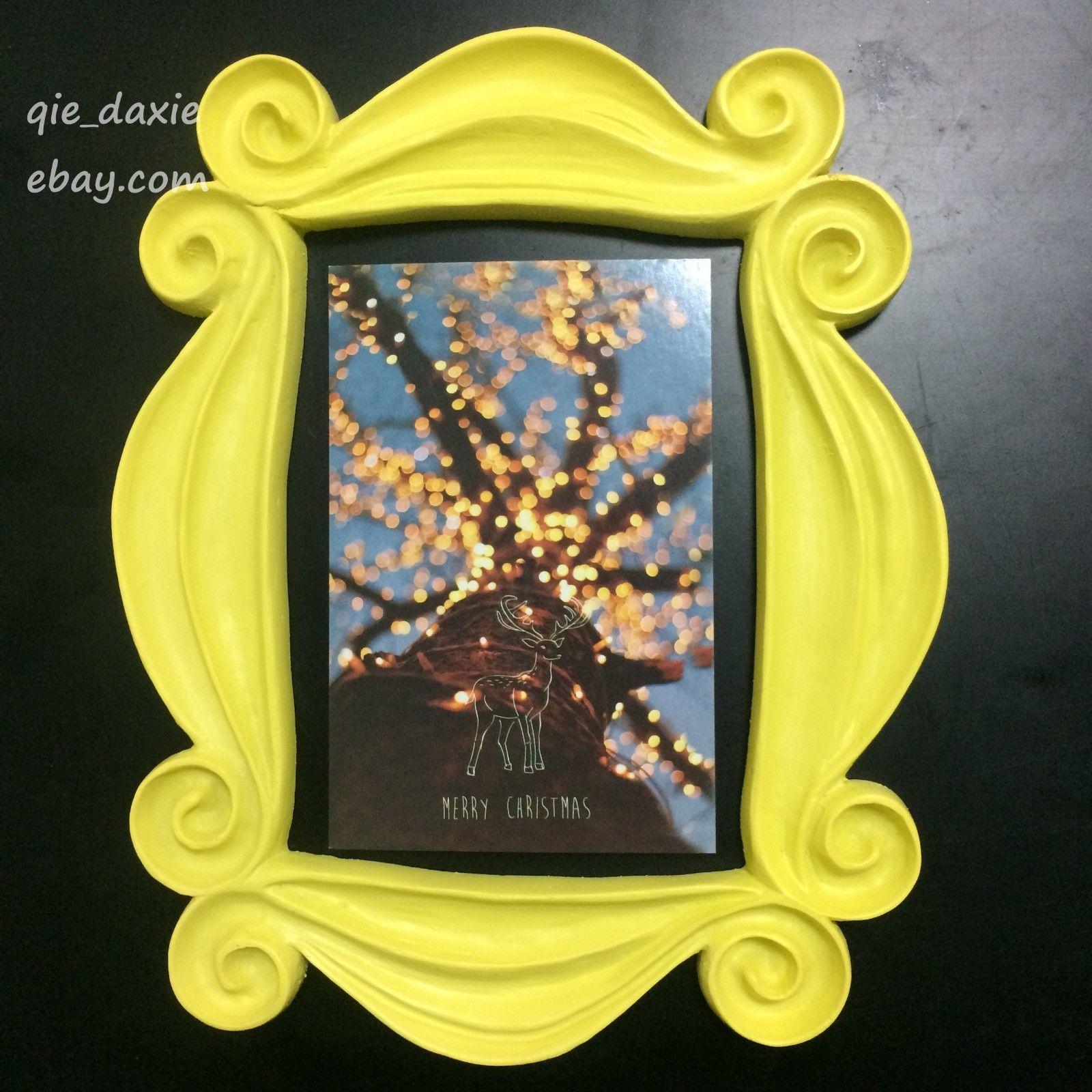 Yellow Peephole Frame as Seen on Monica\'s Door on Friends TV Show ...