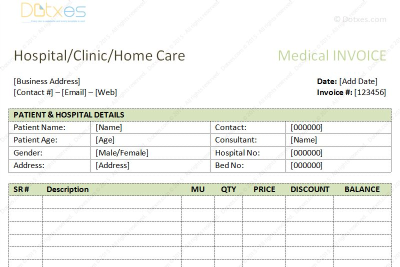 Hospital Bill Format Word Hospital Bill Format Word Luxerealtyco Invoice Template Word Invoice Layout Invoice Format