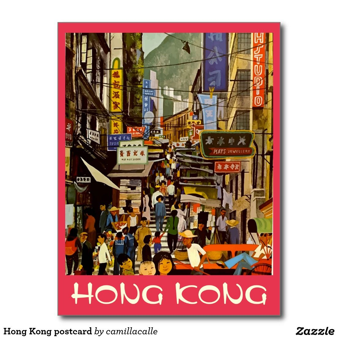 Art Deco Travel Posters Lovely Vintage Retro Holiday Tourism *Unique* Hong Kong