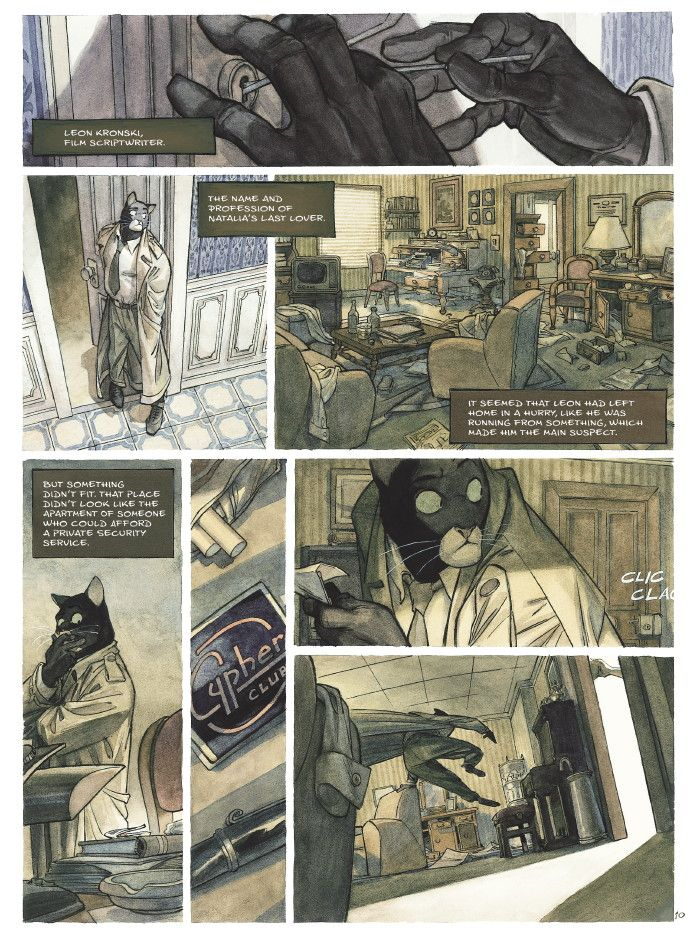 the Blacksad books.