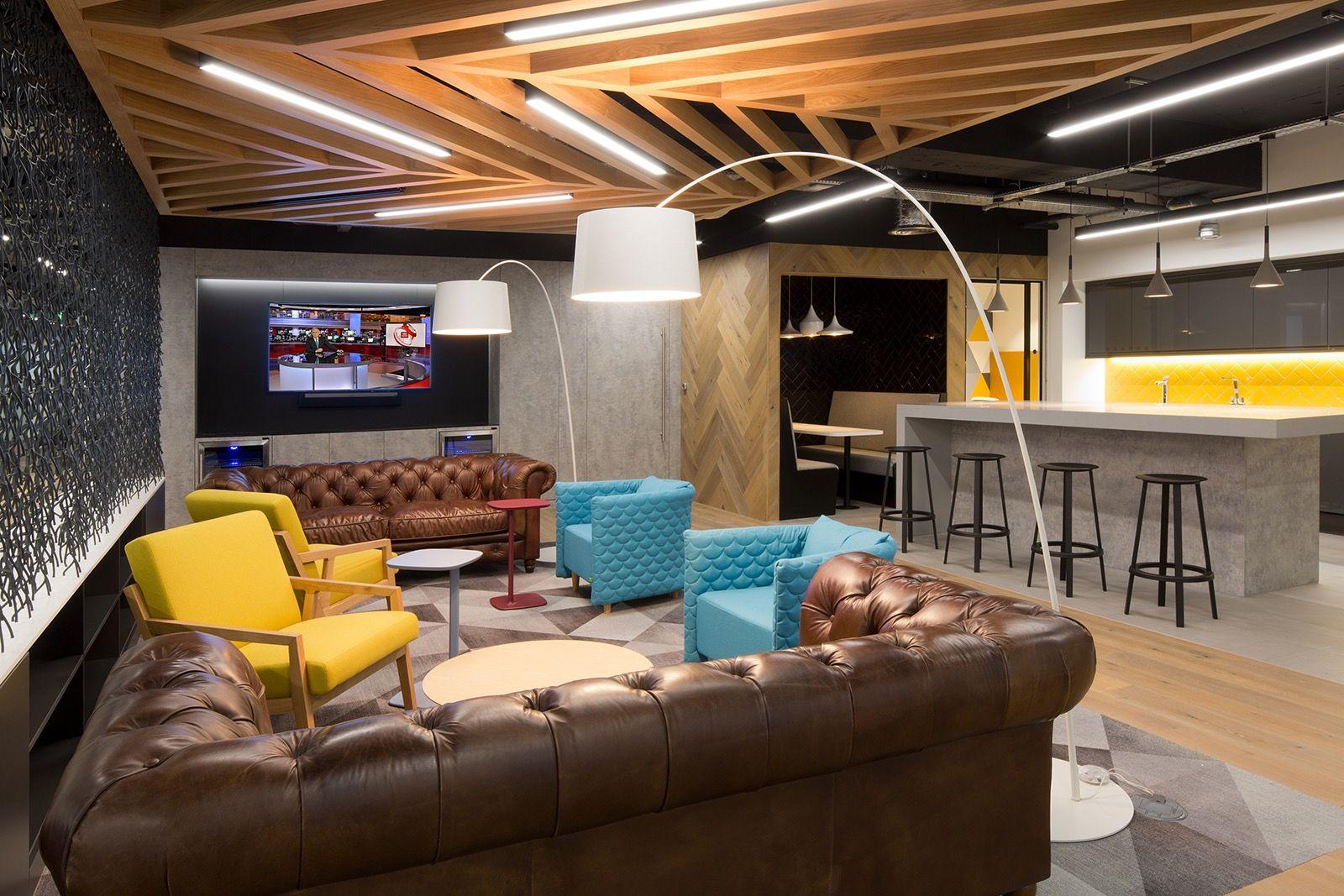 Inside Dtre S New London Office Office Design Trends Modern Office Design Office Design Inspiration