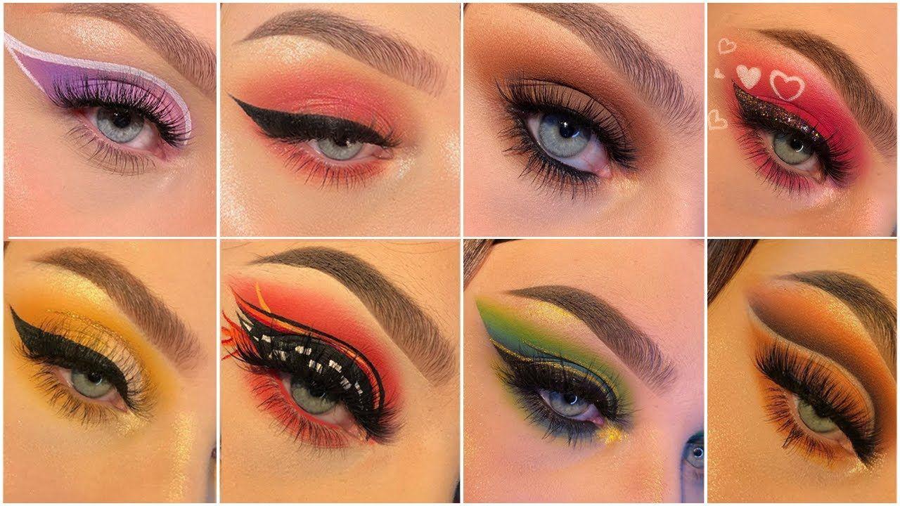 Best 10 Colored Eyeliner أفضل 10 طرق رسم ايلاينر ملونة سهلة واحترافية
