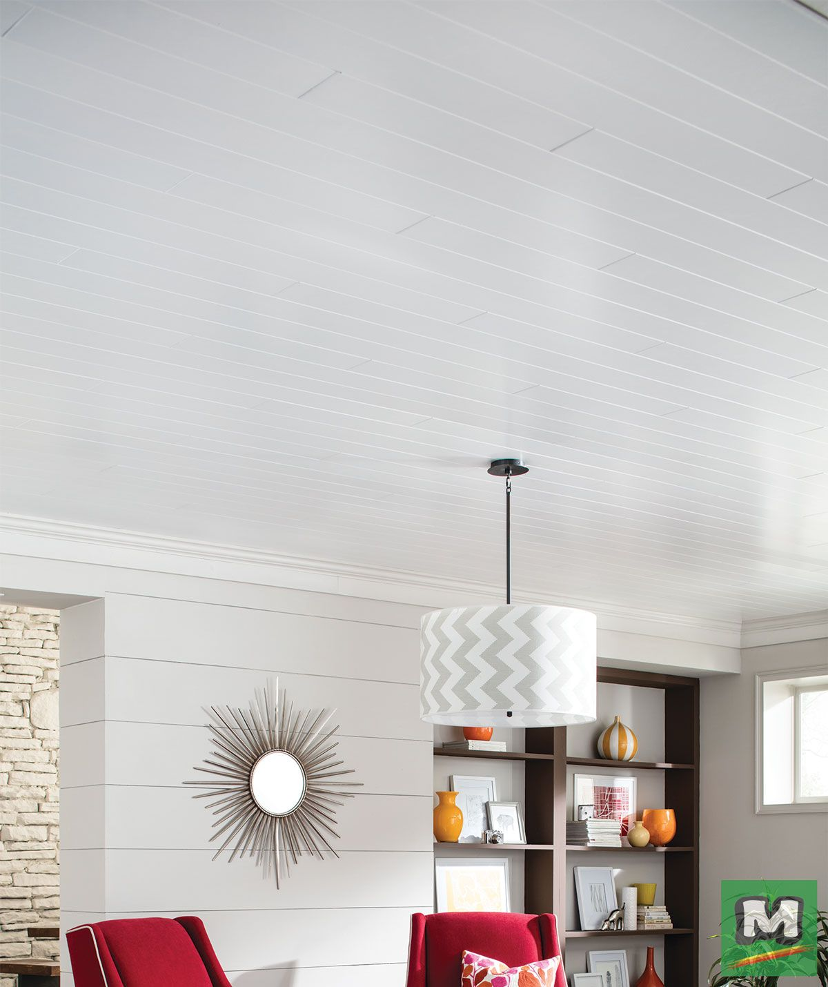 Add the warmth and beauty of natural-looking wood to your home using ...