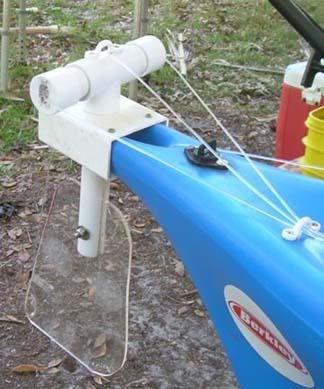 Easy DIY Kayak Rudder  - Pensacola Fishing Forum | Kayaking