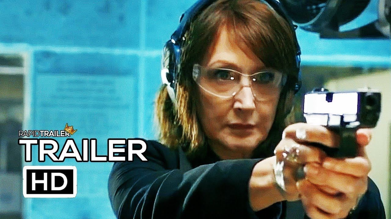 OUT OF BLUE Official Trailer (2019) Patricia Clarkson