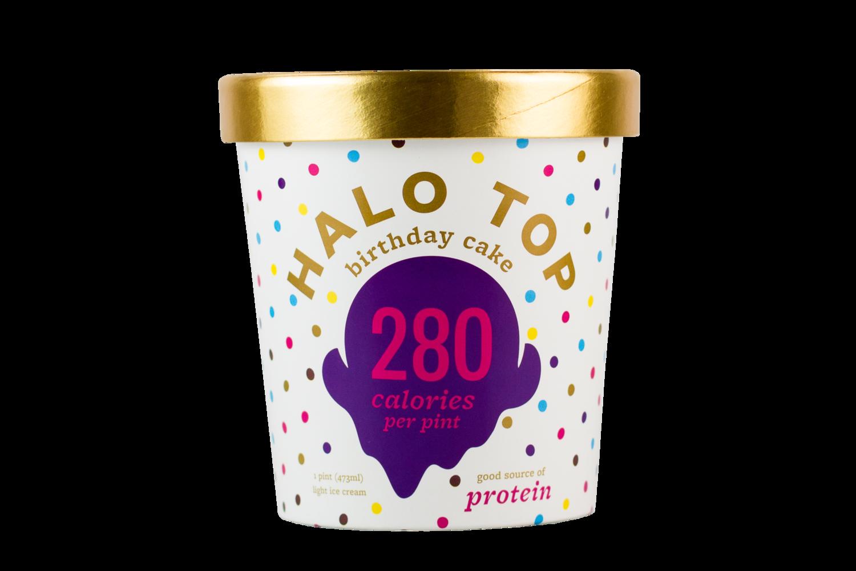 Dairy Ice Cream Flavors Halo Top Ice Cream Halo Top Birthday Cake Ice Cream Birthday Cake