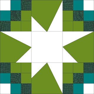 Quilty Friends: CQF Month 11 - May 2013 - Wonky Stars