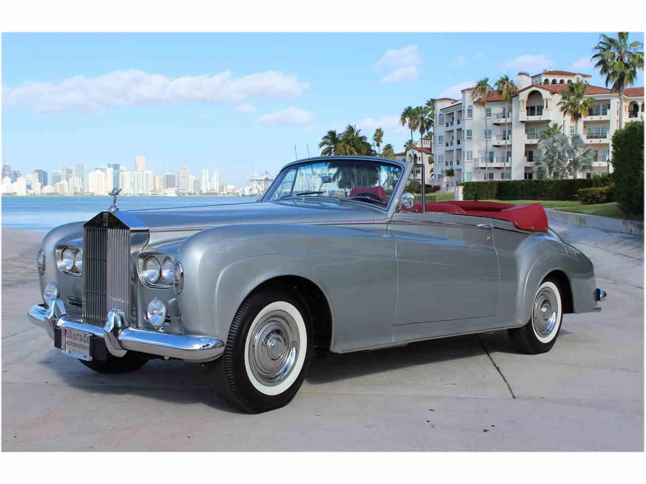 1963 Rolls Royce Silver Cloud Iii For Sale Listing Id Cc 979296