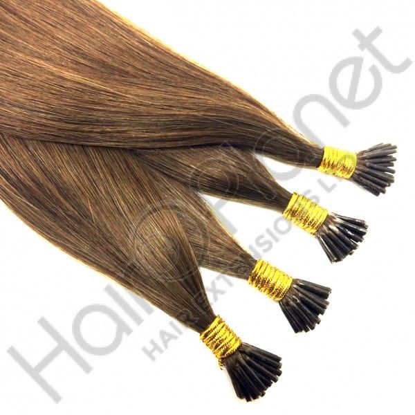 Russian Gold Stick Tip Human Hair Extensions Stick I Tip