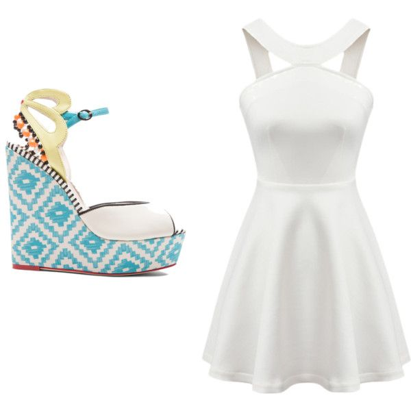 Untitled #93 by dramadive on Polyvore featuring polyvore, fashion, style and Sophia Webster