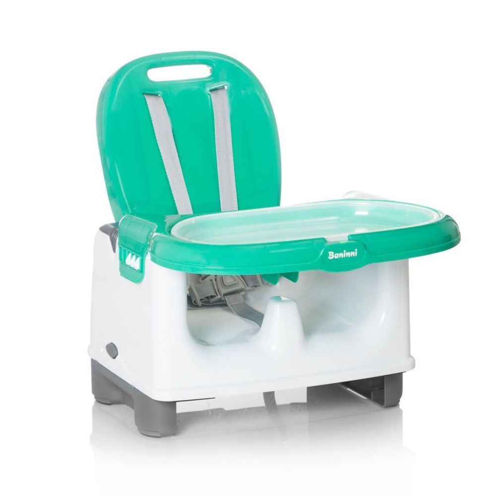 Booster Seat Yami Mint Colored Finish Folodable Made From Durable ...