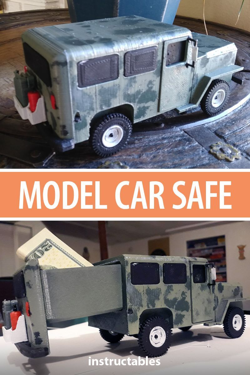 Model Safe - Hidden in Plain Sight | 3D Printing | Model, 3D