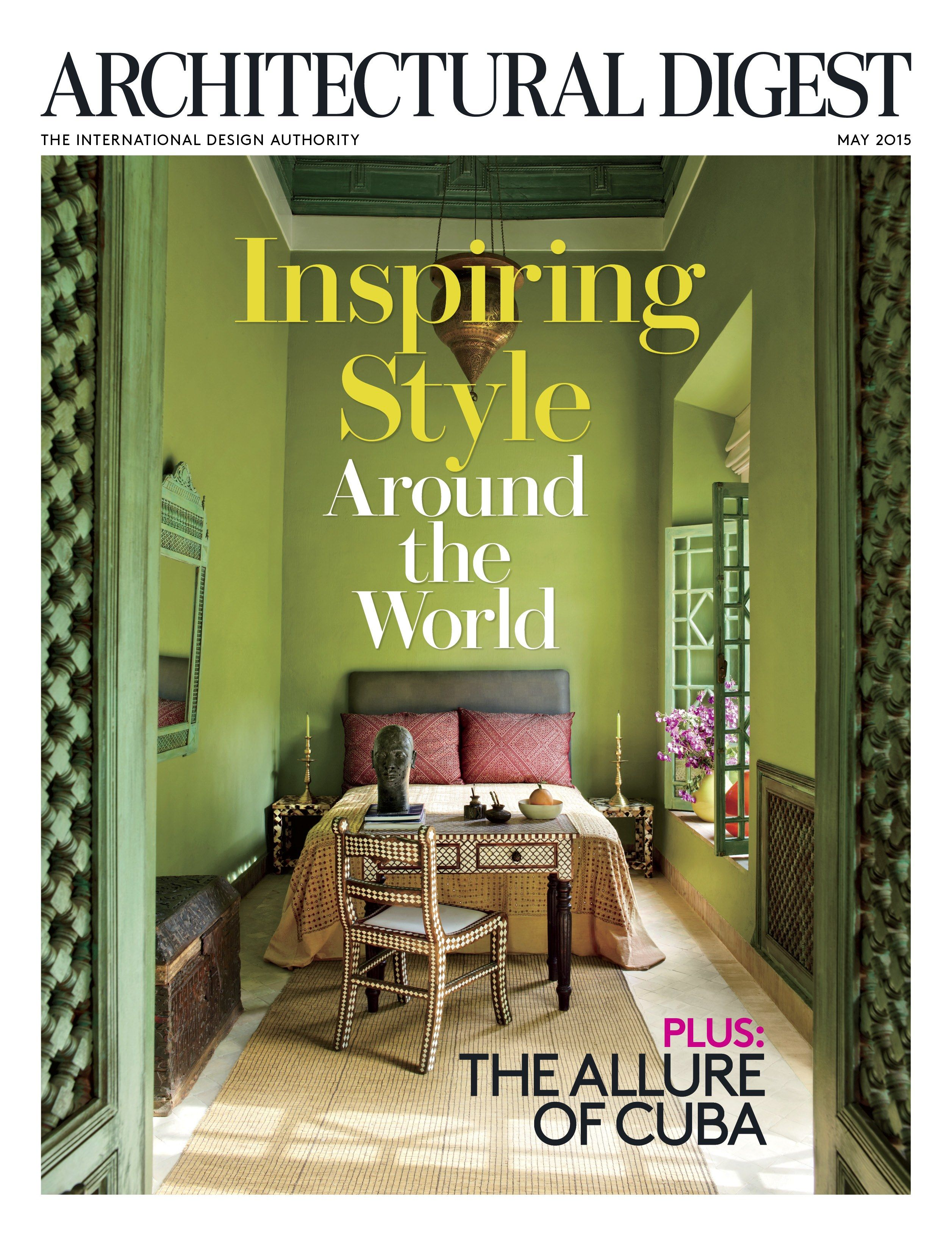 May 2015 Magazine Architectural Digest Covers