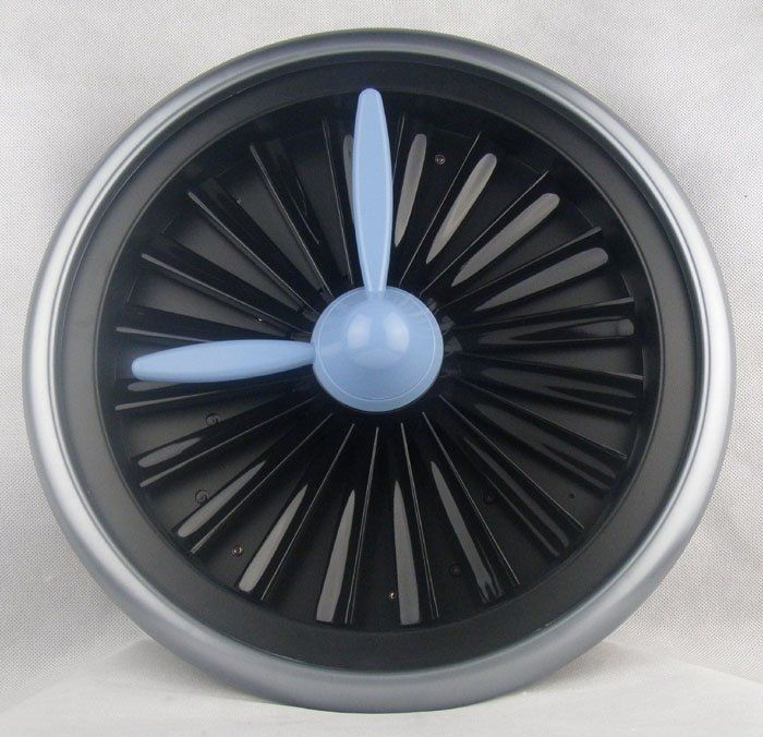 Free Shipping Imitation Aircraft Turbine Rotating Gear Rotating Gear Clock For Home Decoration Artistic Design In Wall Cloc Artistic Designs Gear Clock Clock