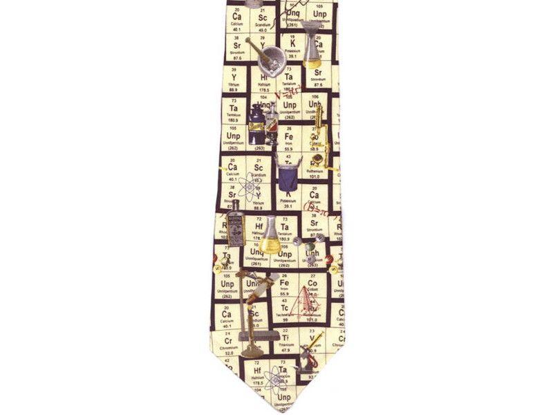 Periodic table tie cutesy pinterest periodic table and chemistry periodic table tie urtaz Gallery