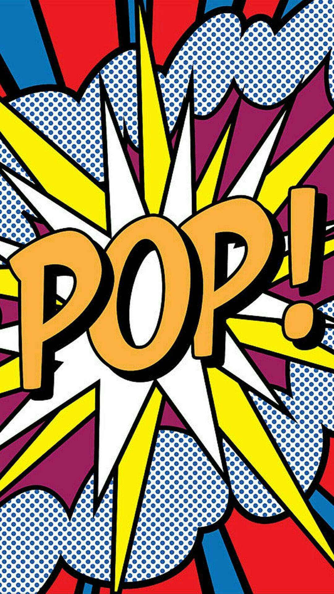 Pop art wallpaper image by Indigo Sunshine on POP Retro