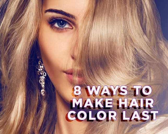 How To Make Your Hair Color Last Longer Hair Coloring Diy Hair