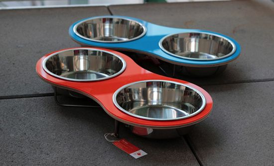 Modern Raised Pet Feeders from Drip Module