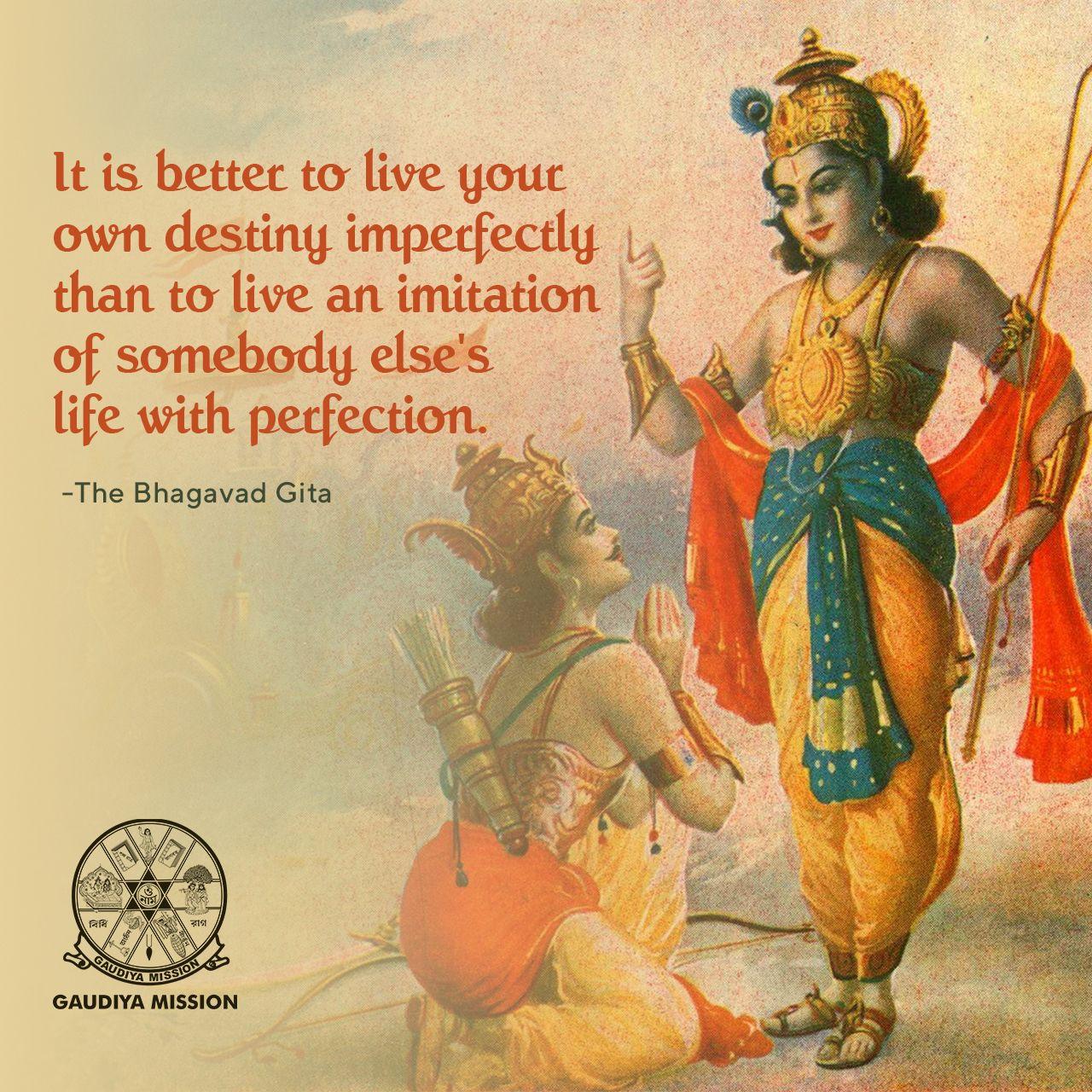The Bhagavad Gita Quotes Gita Quotes Hindu Quotes Radha Krishna Quotes