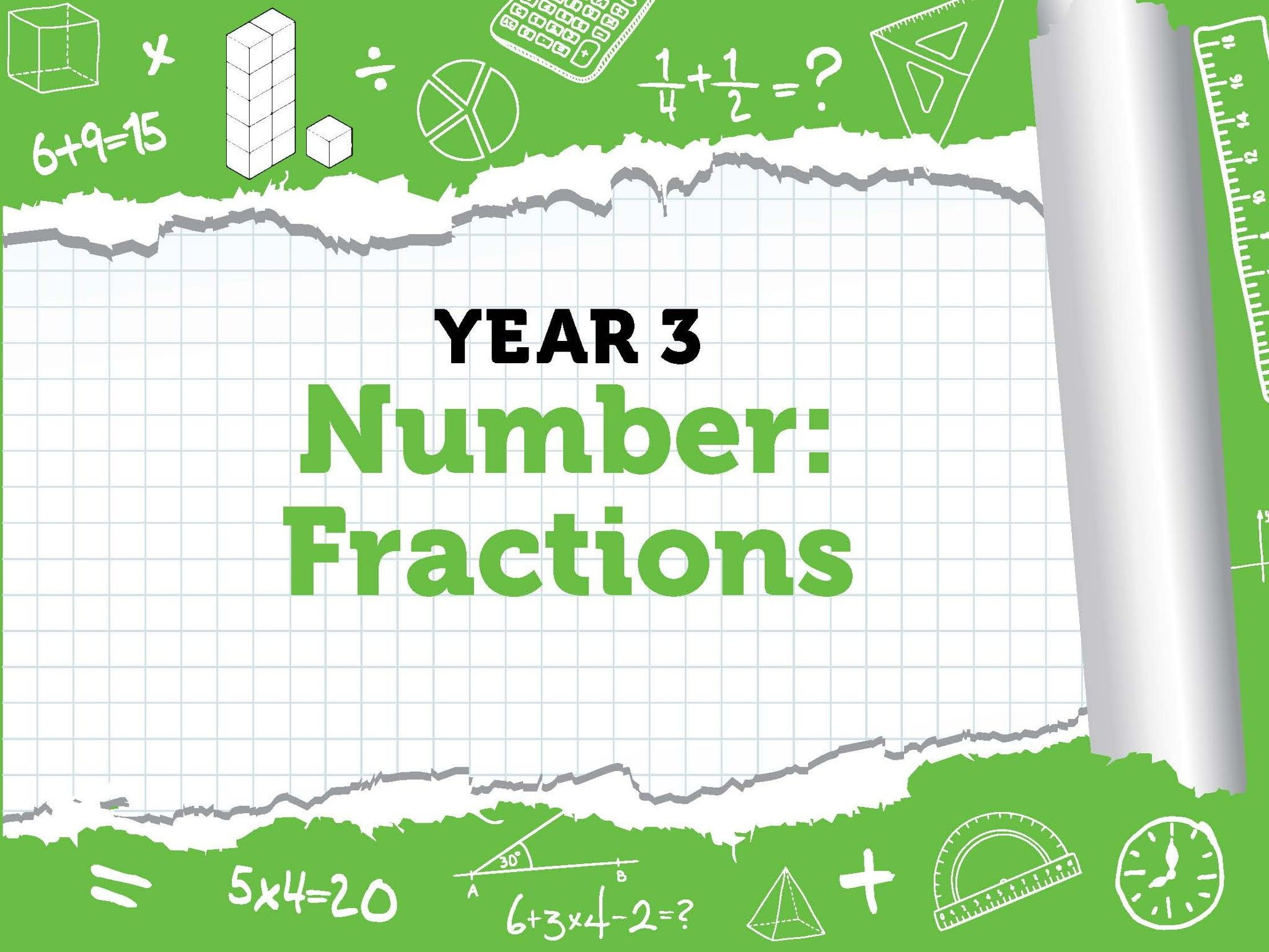 7 Linear Fractions Fourth Grade Worksheets Di