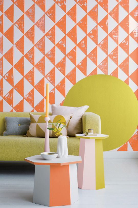 Get playful with your paint effects and give your living space a ...