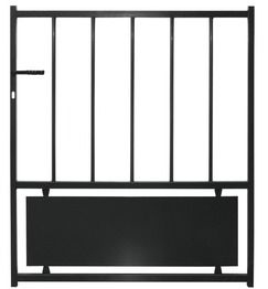 Iron Gate Swing Bistrol 3m Diy Store Brico Depot Boulogne Sur Mer Portail En Fer Portail Fer