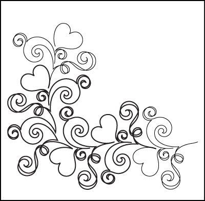 Doodle hart