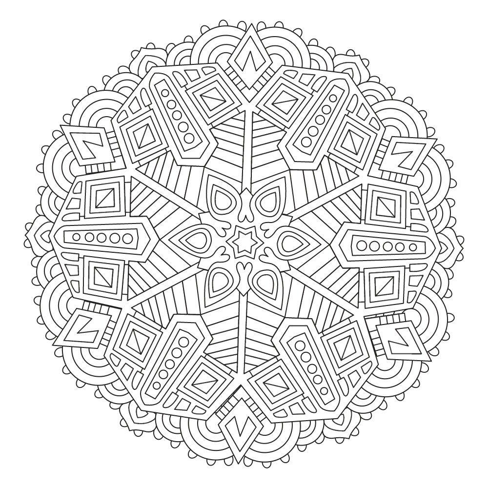 Pin de Marcela Zuluaga en Para colorear | Pinterest | Mandalas ...