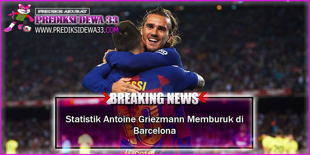 Untuk statistik pribadi, griezmann tidak memiliki masalah. Statistik Antoine Griezmann Memburuk di Barcelona ...