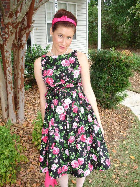 Retro-Chic Maternity dress | Vintage, Chic and Dress ideas