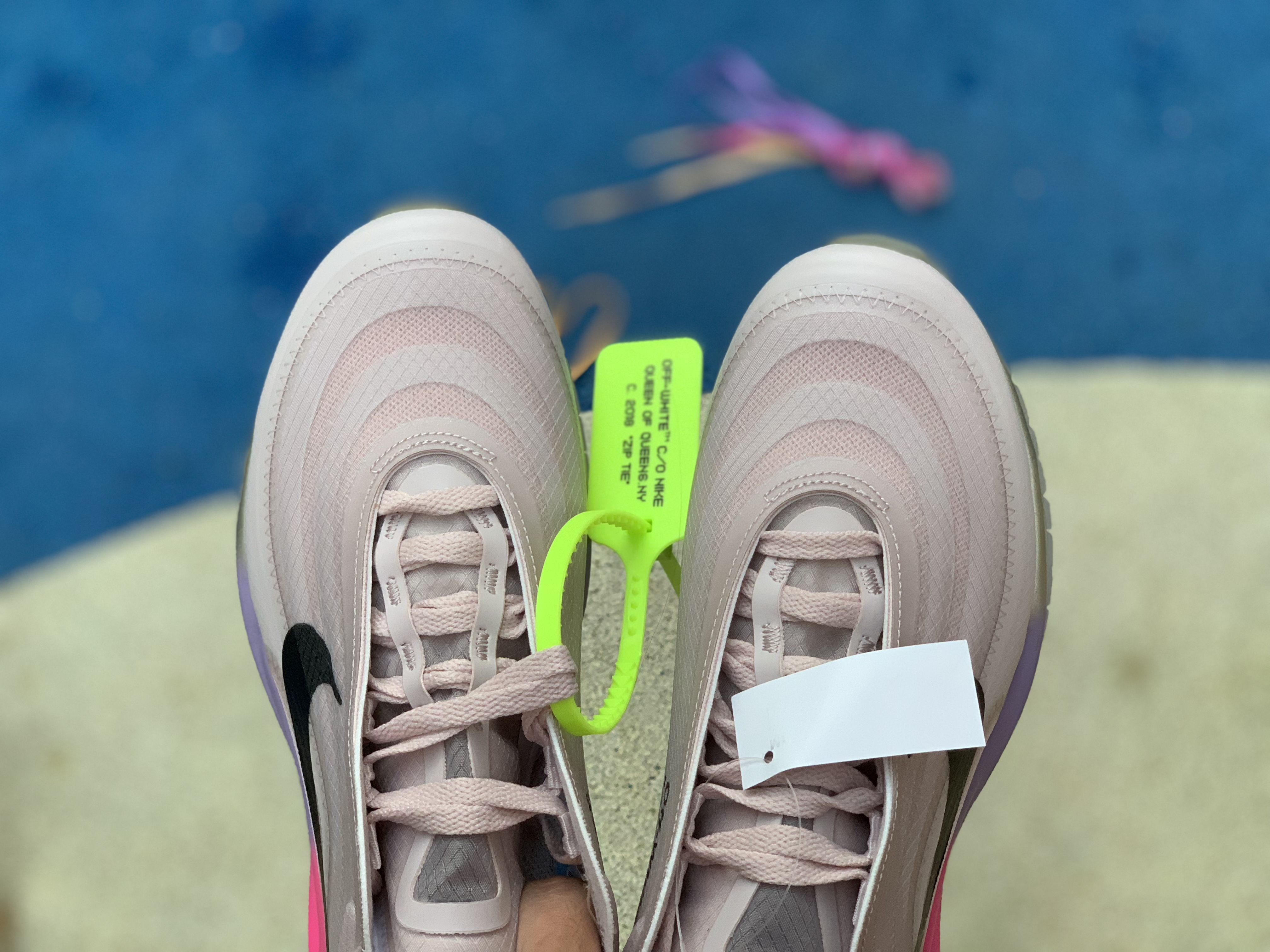 "Serena Williams' Off White x Nike Air Max 97 ""Queen"