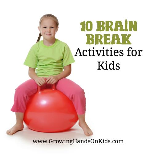 10 Brain Break Activities For Kids
