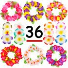 36 Hawaiian Luau Party Supplies Set Includes 12 Flower Hairpins 24 Headbands Lei #Holiday #hawaiianluauparty