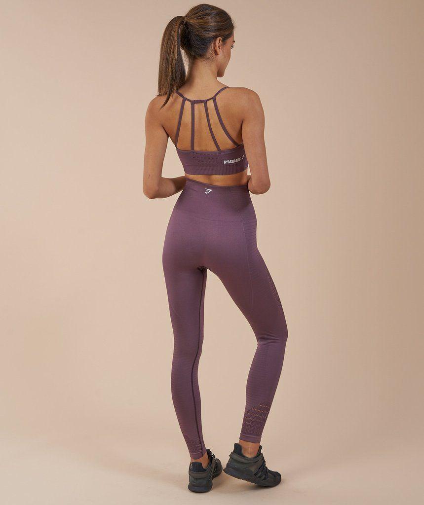 3881a877f3952 Gymshark Energy Seamless Sports Bra - Purple Wash 2