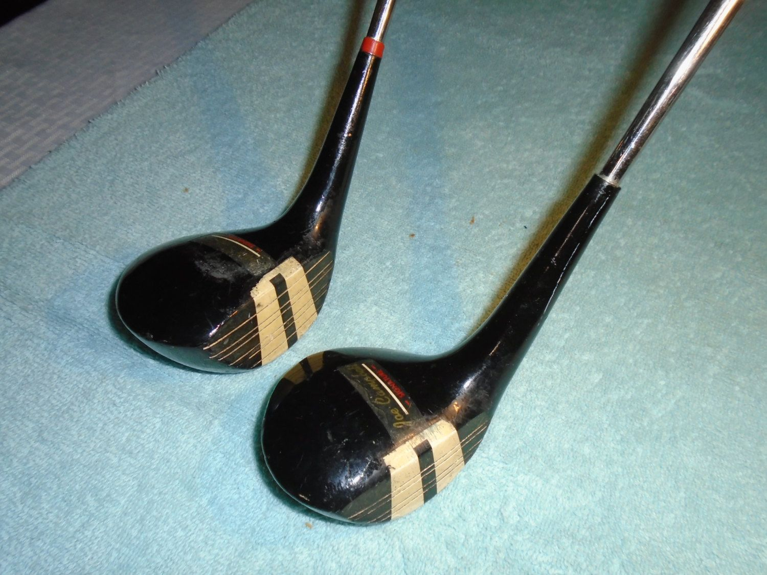 Old Kroydon 1 And 3 Woods Golf Clubs Golf Clubs Driver Golf Club 3 Wood Golf Club Sports Equipment Woods Golf Golf Clubs Golf