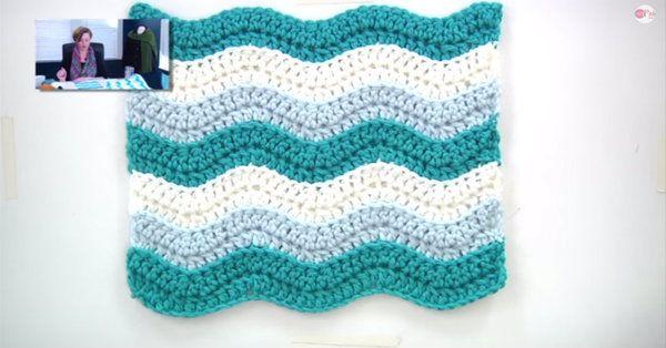 Beginners Blanket Create Your Own Rugged Ripple Afghan
