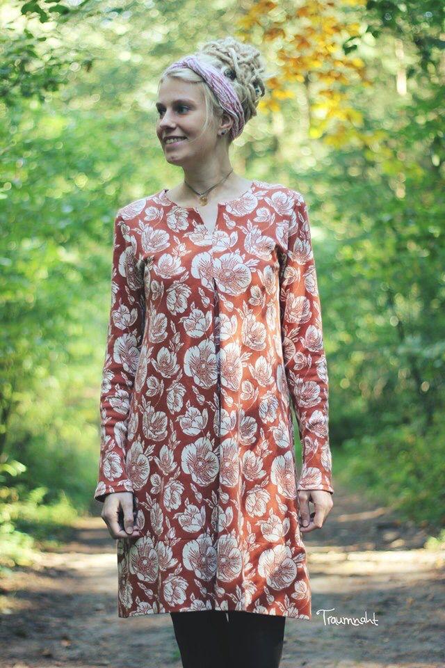Lilly - Schnittmuster Damen Kleid und Shirt von FinasIdeen