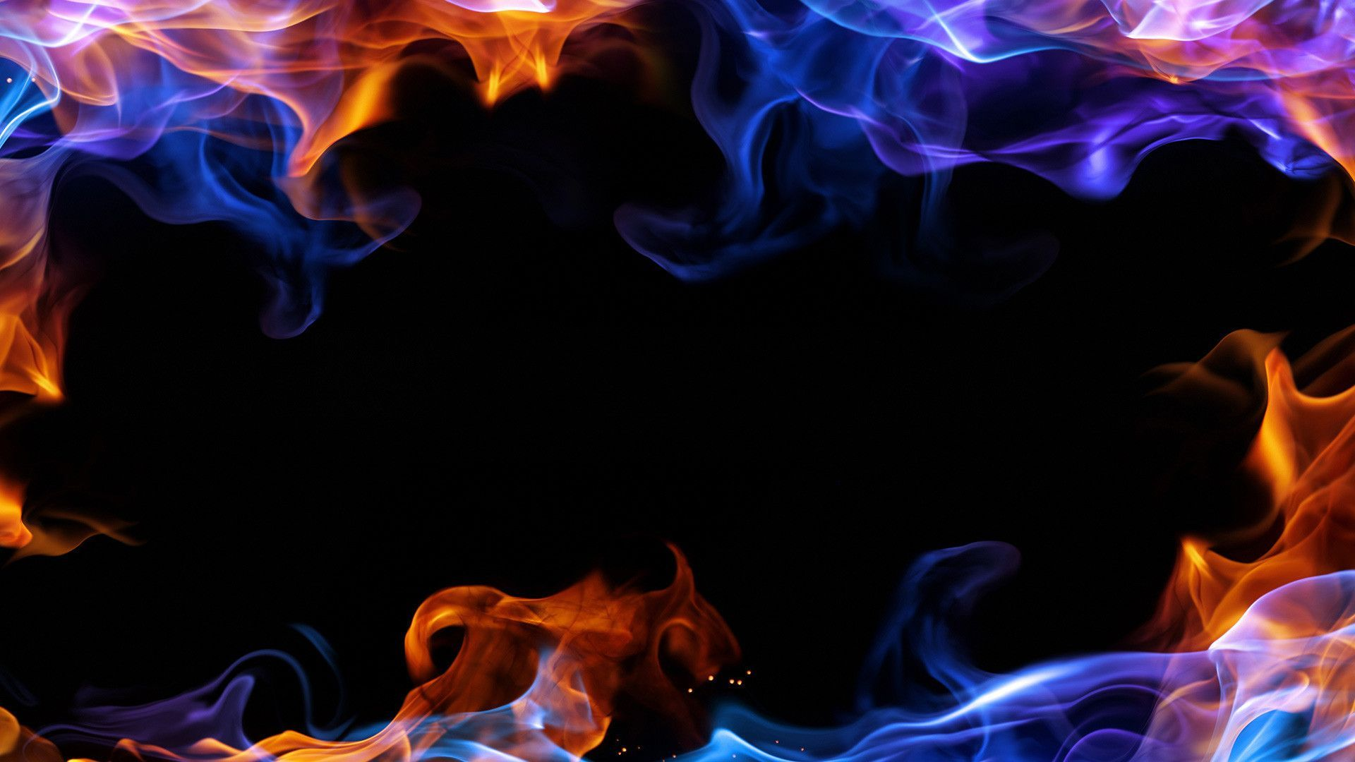 Black And Red Smoke Wallpaper Widescreen 1920x