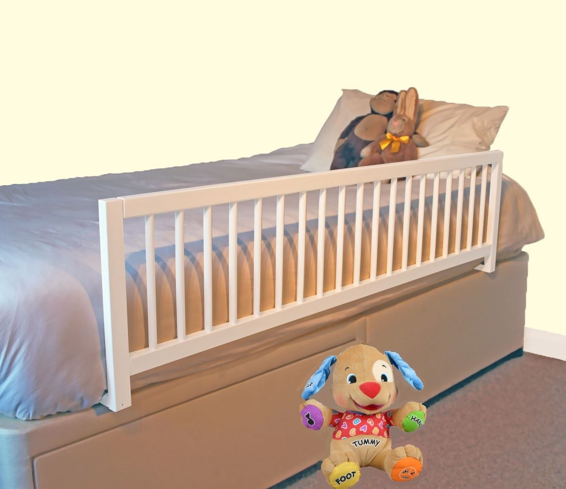 Wooden Side Rails For With Images Bed Rails For Toddlers Kid